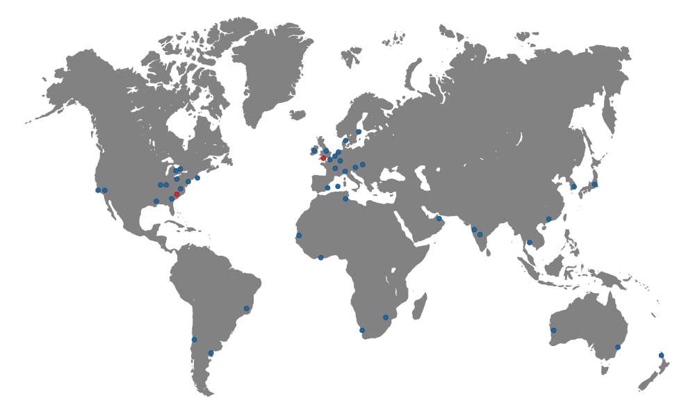 distributor map Gillsc